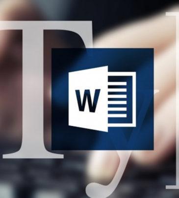 Курс работы в «Microsoft Word»